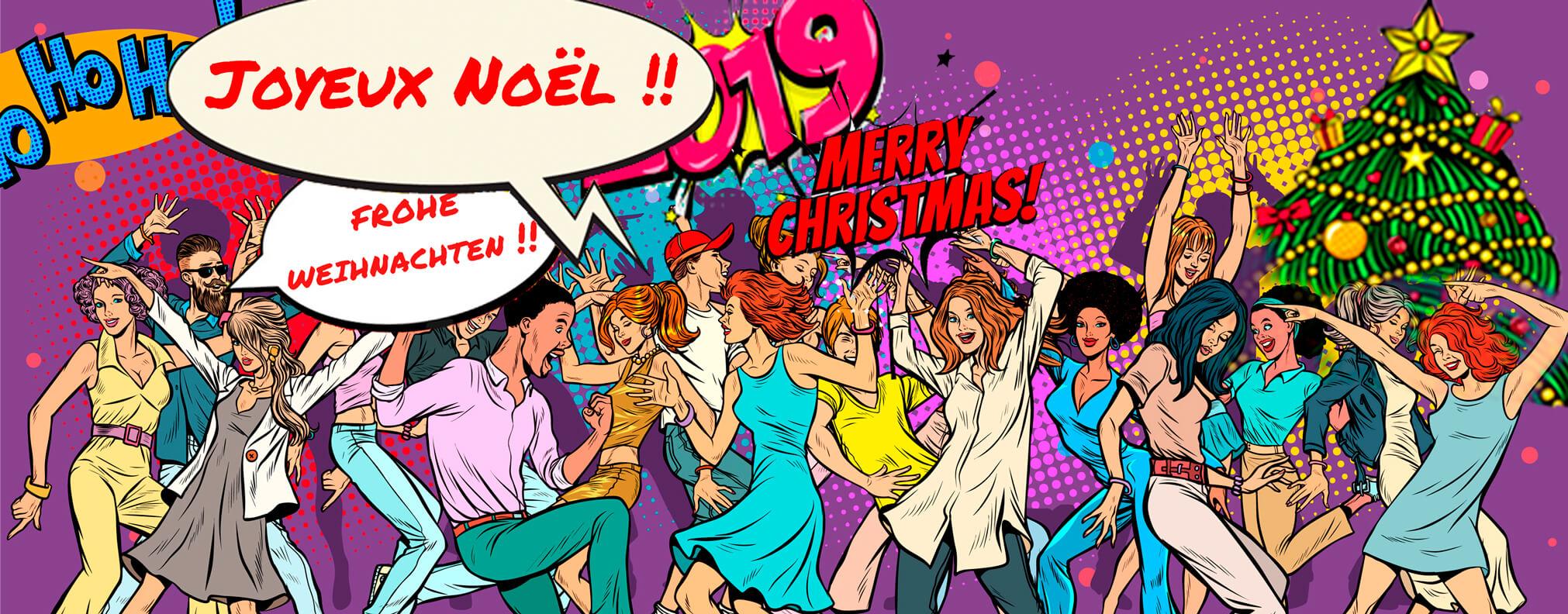 Toute l'équipe vous souhaite un joyeux Noël !